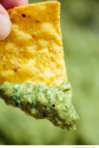Bright and Spicy Guacamole - Big Sky Little Kitchen